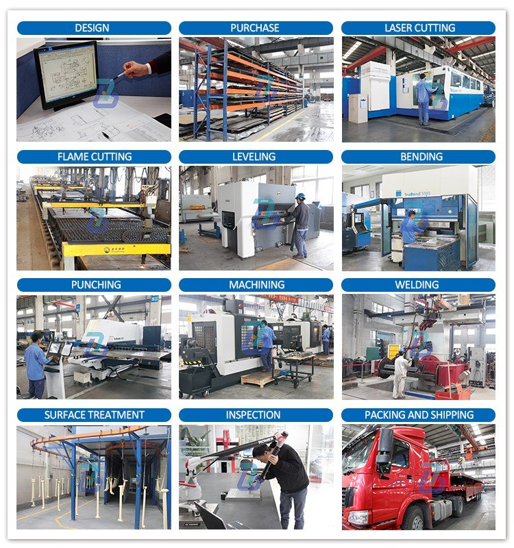 High Quality metal welding steel fabrication