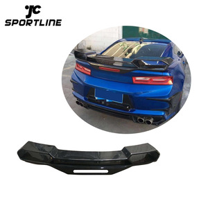 1LE Style Carbon Fiber Rear Spoiler for Chevrolet Camaro 2016UP