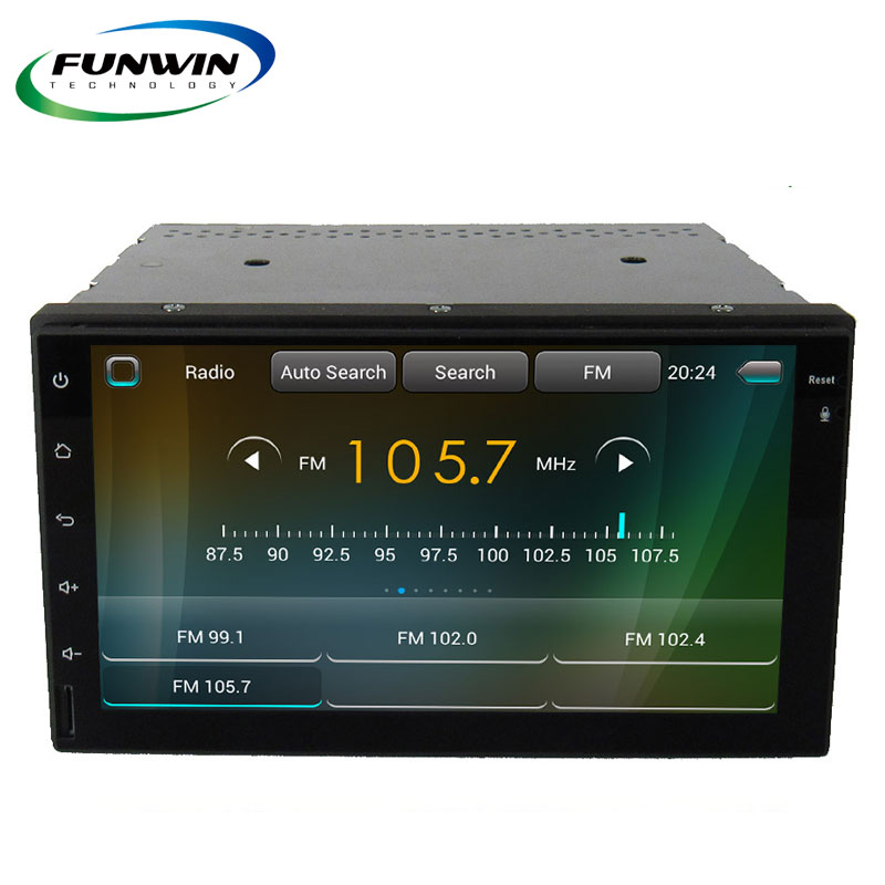 Funwin UNA666 Android 2 Din Dab Car Radio With Navigation China, Autoradio 2 Din Dvd Gps, Auto Radio With Bluetooth