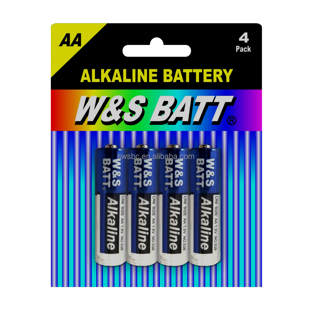 Alkaline Battery LR6 AA AM-3 (W&S BATT brand or OEM)