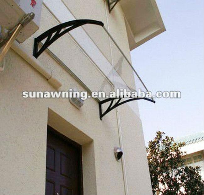 Gentil Polycarbonate Clear Door Canopy