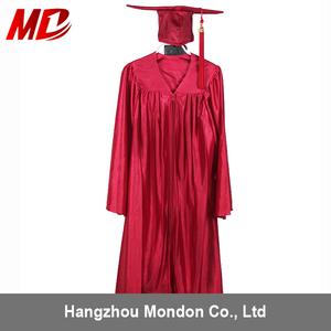 Shiny Red Kindergarten School Uniform