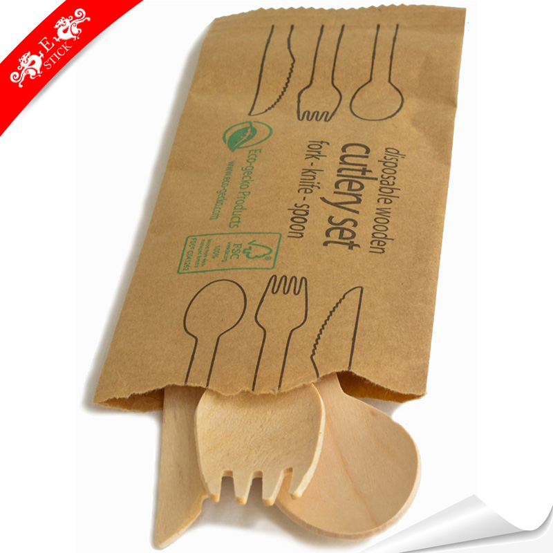 Walmart eco-friendly beech wooden spoon and fork for cake