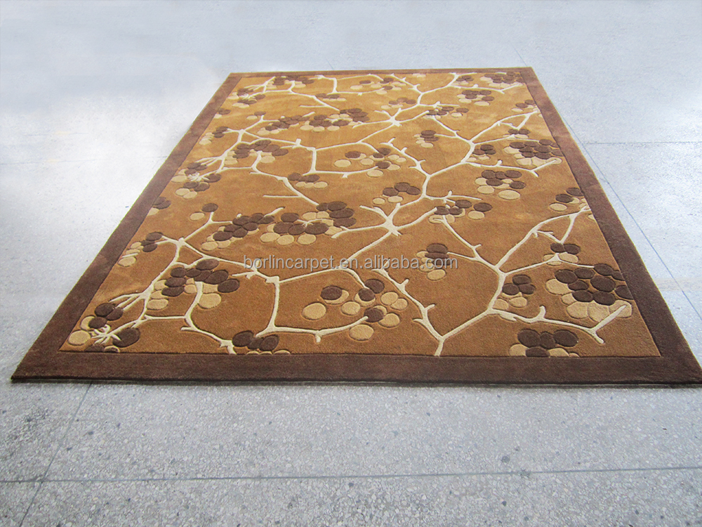 Manufacturer China Aubusson Washable Modern Art Carpet