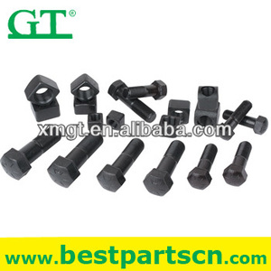 high tensile track bolt grade 12.9 bolt hardness HRC37-44