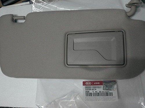 OEM Genuine 852012G010QW Driver Inside Sun Visor LEFT For 2007-2010 KIA OPTIMA