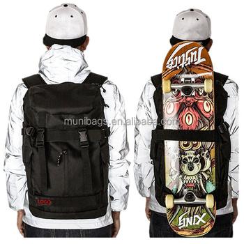 ccaa2e98c0d3 Skateboard Tasche Rucksack Custom Skating Backpack Skate Scooter Bag ...