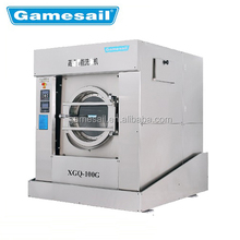 Hotel industrial laundry equipment 100kg washing machines tumble dryer flatwork ironer bed sheet folder