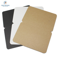 Kraft Paper Blank Folded Cards Handmade Postcard Greeting Cards Paper Crafts Art Paper Party DIY Scrapbooking