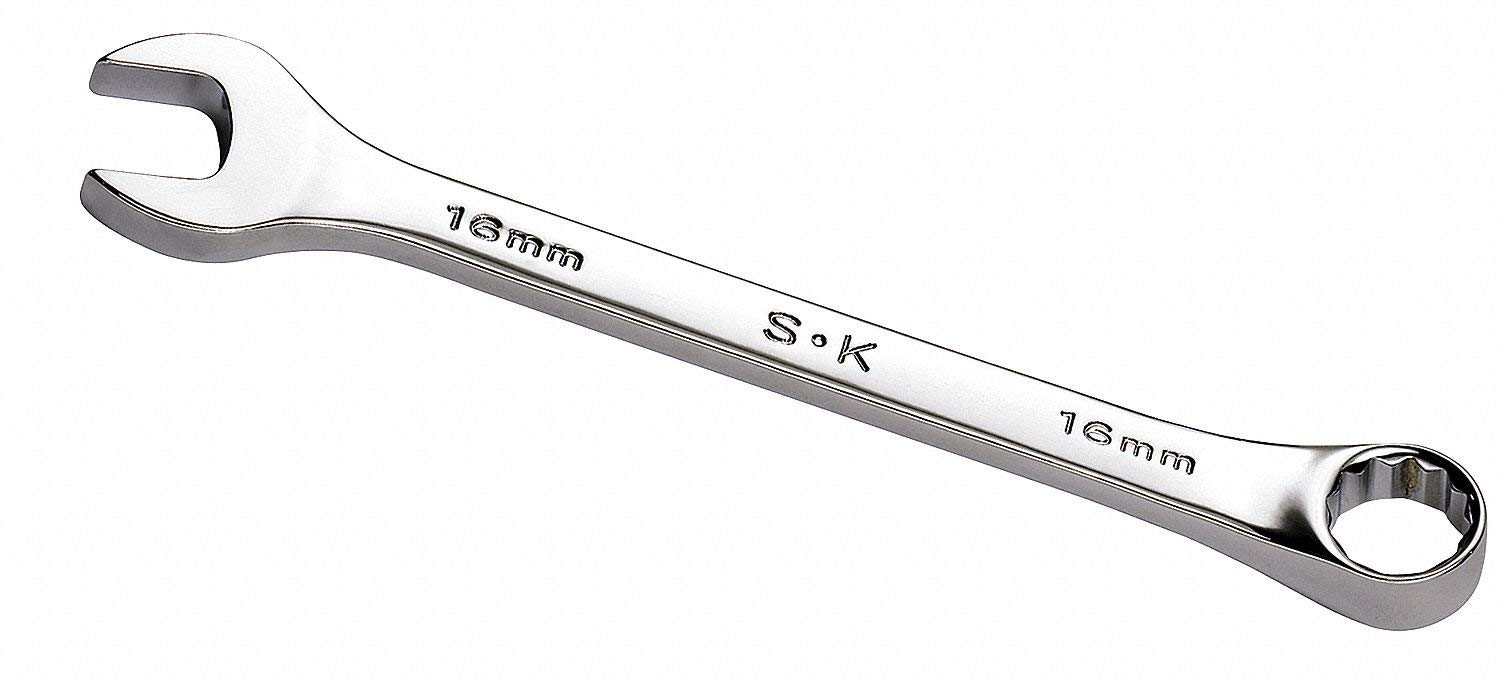 15mm, Combination Wrench, Metric, Full Polish Finish, Number of Points: 6