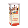 Multi-functional cosmetic display jewelry counter aluminum rotating retail counter