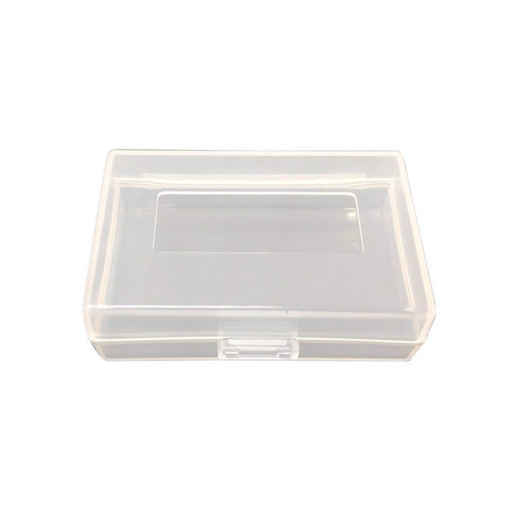 "MagiDeal Clear Camera Battery Storage Case/Holder Protective Box for Most DSLR Camera Batteries Pack Below 2.36""x 1.57""x 0.7"""