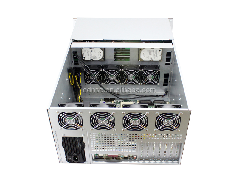 6u 36 hdd bays network storage rack mount server case