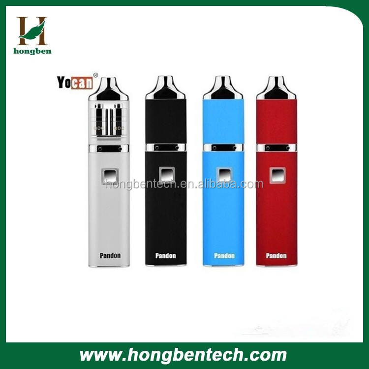 2017 Intense Vaping Experience Electric Oil Vaporizer Yocan Pandon 2 Atomizer In 1 Pen Wax Pen Concentrate Vaporizer Dabber