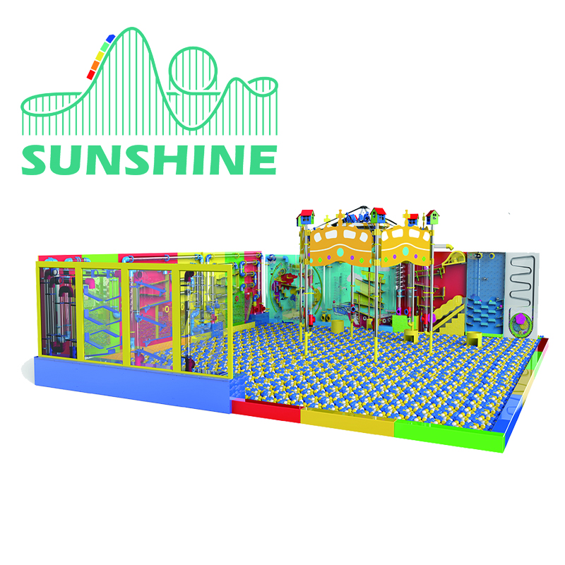 popular naughty castle kids plastic playground indoor playground,PHYSICAL WALL