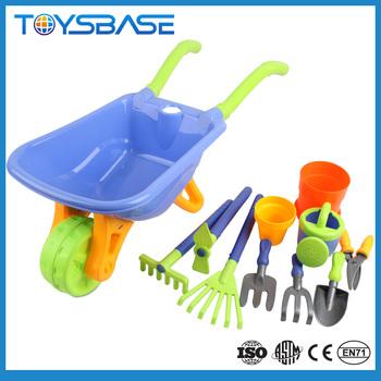 Plastic Garden Cart Toy Gardening Tools Toys For Kids Buy Plastic