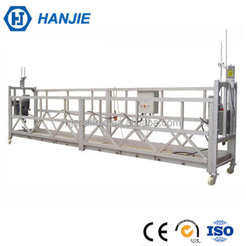 Building Hanging Lift Electric Wire Rope Hoisting Scaffolding For ...