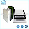 Fiber glass f9 pleated filter panel air conditioning filter vacuum cleaner hepa filter