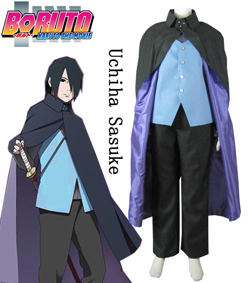 Uchiha Sasuke Cosplay Costume (Naruto The Movie) - free ...