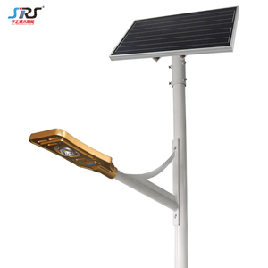 High brightness 140lm/w Project IP67 solar panel led street light with pole