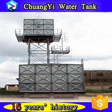 Years experiences alibaba excellent user sell overhead steel water tank, elevated steel water tank, elevated sectional water tan