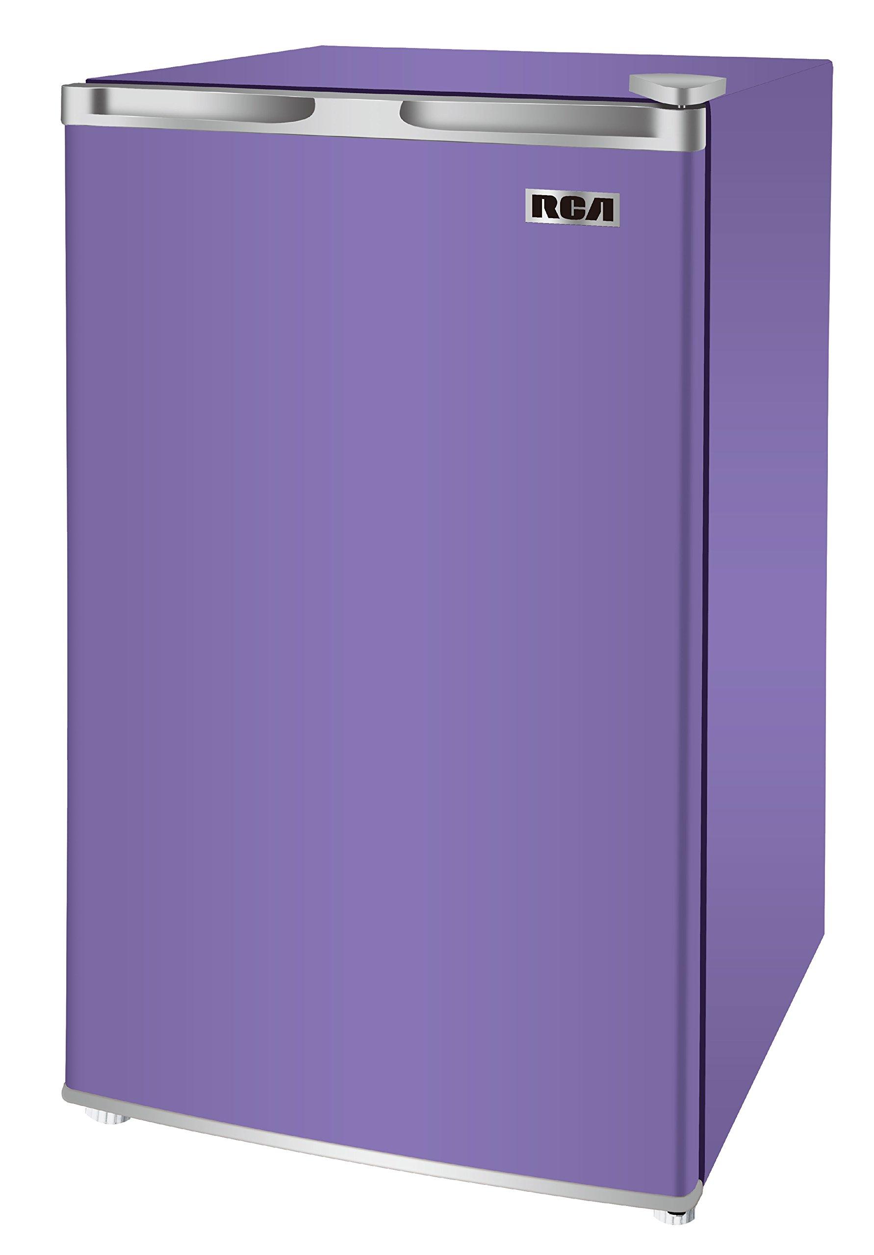 RCA RFR321-FR320/8 IGLOO Mini Refrigerator, 3.2 Cu Ft Fridge, Purple