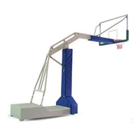 basketball stress ball with stand blue rebounding machine movable basketball stand