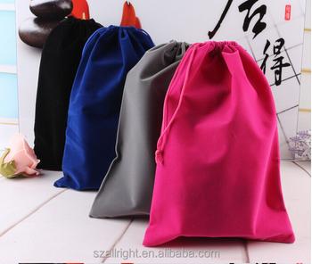 20 30cm Custom Printed Big Size Velvet Drawstring Pouch Fabric Gift Bags Wholesale Buy Velvet Drawstring Pouch Fabric Gift Bags Big Velvet Pouch