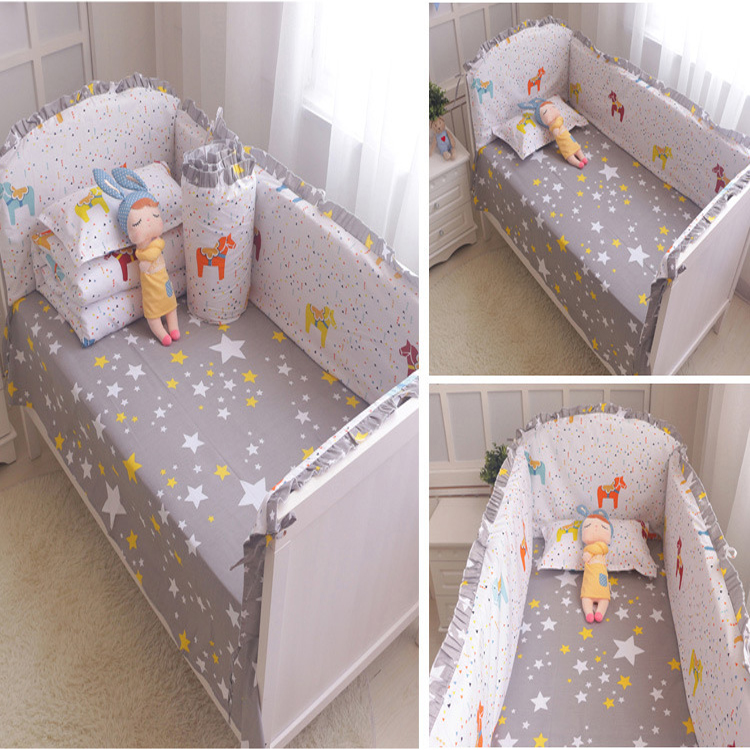 Baby Bedding Set baby bed bumper for baby crib
