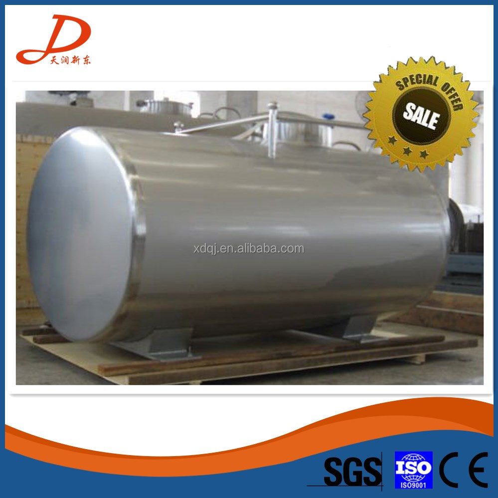 Truck use milk insulation tank for milk collection