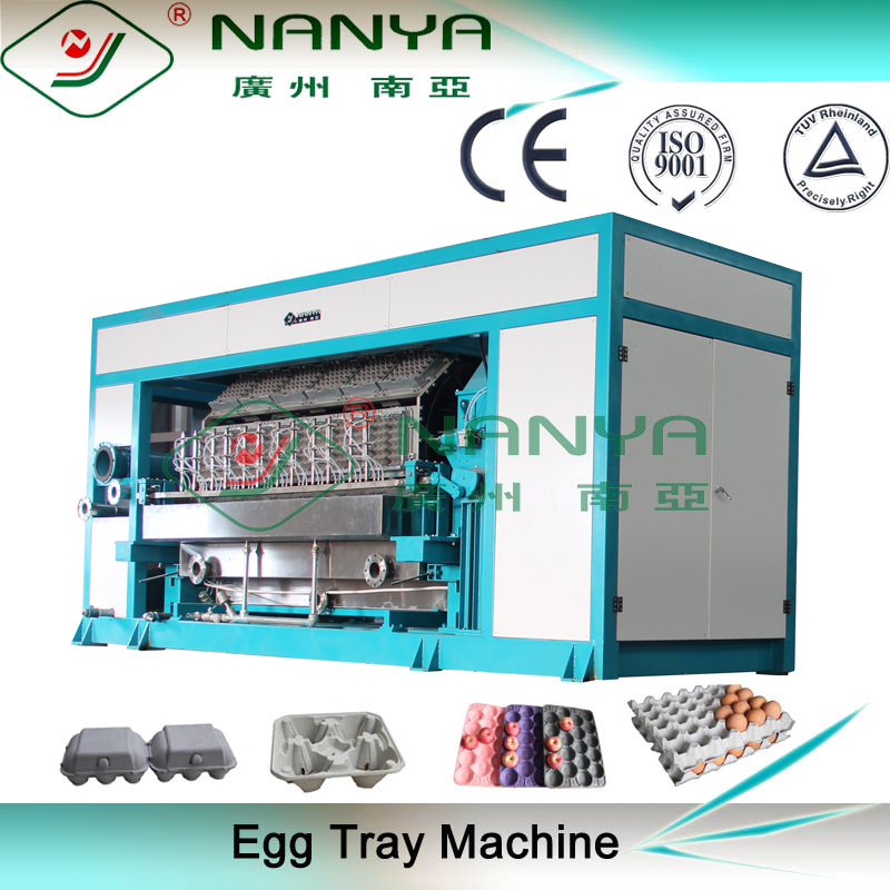Quality Automatic Paper Egg Tray Forming Machinery / Egg Box Production Line