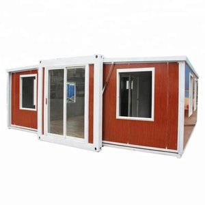 China completed living expandable container home folding container house