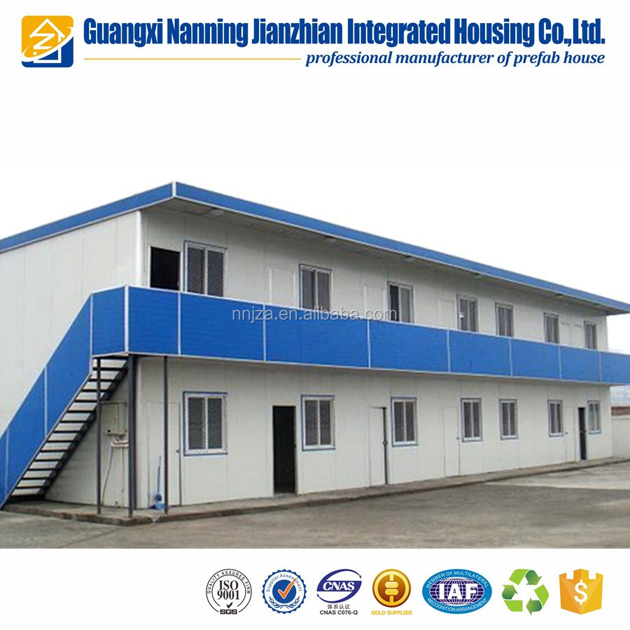 Prefabricated House Container Home Labor Dormitory / Students Dormitory
