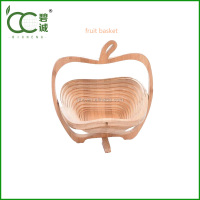 Eco-Friendly Bamboo Wooden Fruit Basket