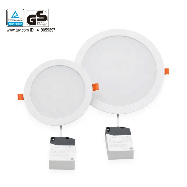 SMD2835 Zuiver Wit messing led downlighters