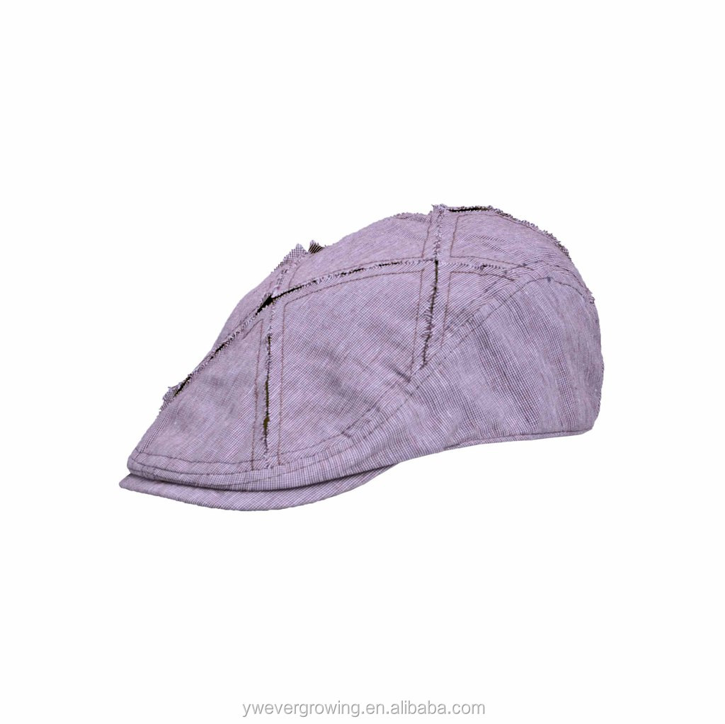 Calidad Superior Desgastado Gatsby Stetson Algodón Ivy Cap Sombrero ...
