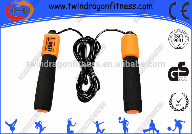 High Quality Plastic Band Weighted Heavy Corssfit Jump Ropes