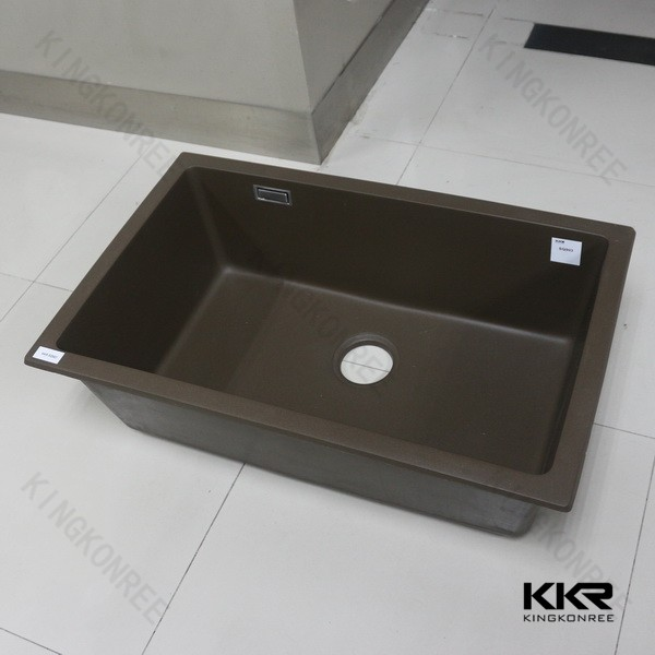 Gtanite and quartz stone kitchen washing basin