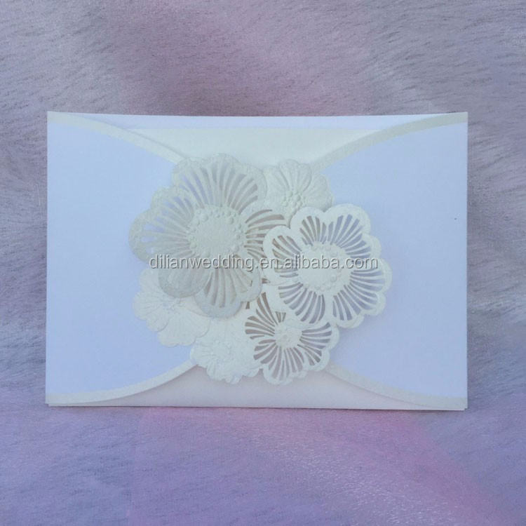Fast moving laser cut latest wedding card designs