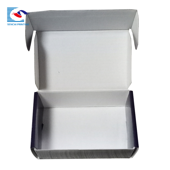 SENCAI Customized printed cookies glossy corrugated shipping box