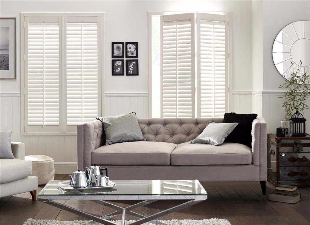New Product Premium Quality Cheap Price Custom-Made Sliding Roman Wooden Shutters