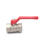 Low price threaded brass forged brass ball valve price list china