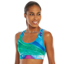 custom gym sports mesh vests bra