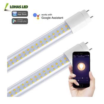 Smartphone Remote Control Tunable White T8 22w Wifi Smart Light Led Tube  Via Tuya App - Buy Led Tube Light,Led Tube Lighting,Wifi Led Tube Product  on
