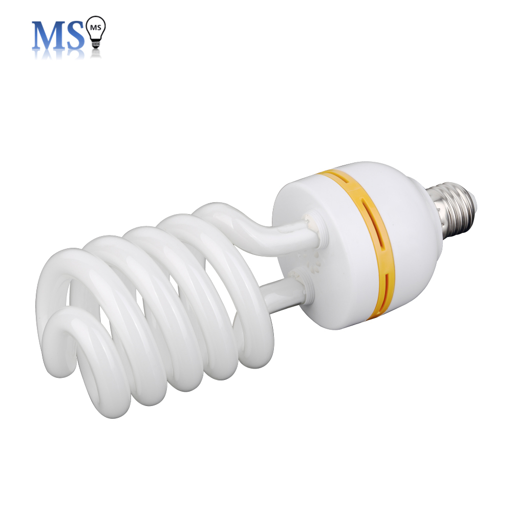 9w half spiral CFL energy saving lamp fluorescent lamp