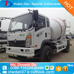 Sinotruk Howo small concrete mixer truck for sale