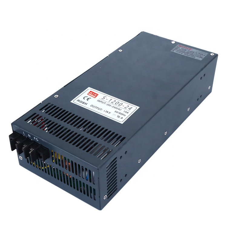 60hz 110/220 volt ac to dc 1000w power supply 30v 30a transformer S-1000-30