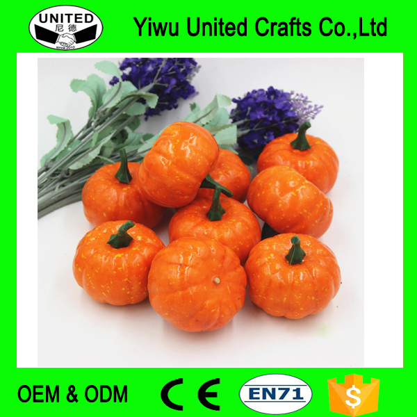 Artificial Fake Decorative Mini Pumpkin