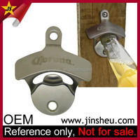 China Supplier Wholesale Custom Cheap Zinc Alloy Metal Wall Bottle Opener