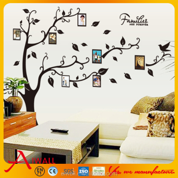 9063A DIY Family Tree Wall Sticker Photo Frame Wall Decal 3D Vinyl Photo  Album Removable Home